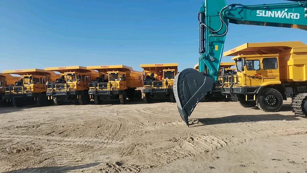 【飛哥說車19】礦山新秀——山河智能SWE600F挖掘機-帖子圖片