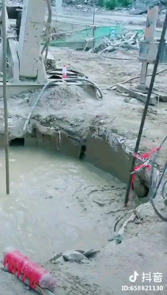 听人说这是下去捞砖,这是真的吗