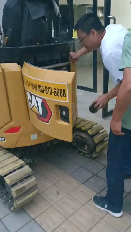 新买的卡特17被拆开拆去边二手车了,卡特公司不及时处理解