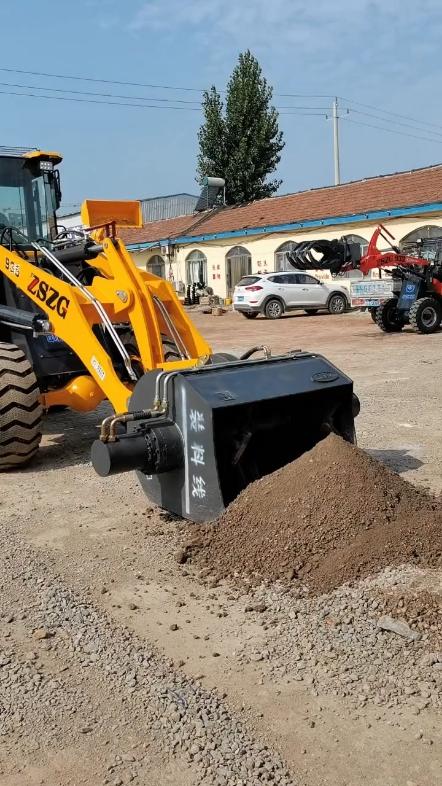 鏟車改裝攪拌機,讓你的鏟車用途不再單一-帖子圖片