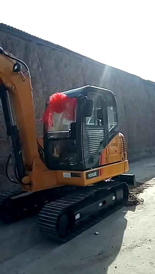 【我是柳工鐵粉】柳工9055E挖掘機提車+使用報告-帖子圖片