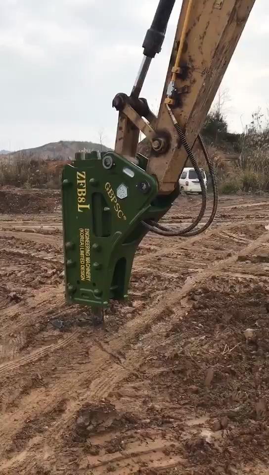 安装完毕,试锤 !