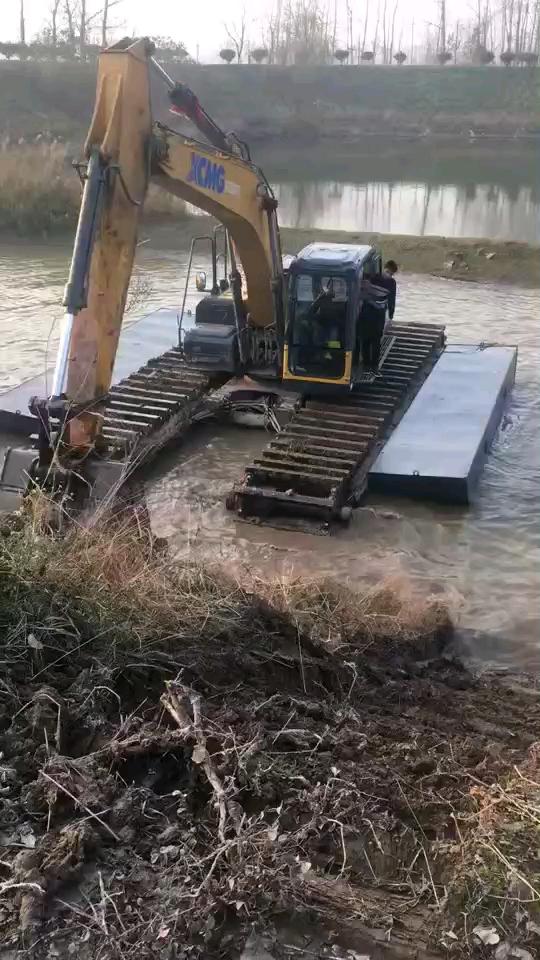 水陆两用两用挖掘机
