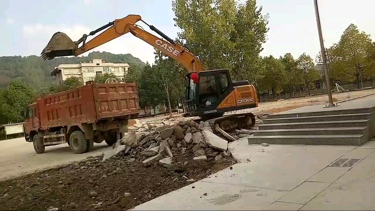 3个月干700小时 贵州黔东南首台凯斯130C挖掘机超详细使用报告(后续多楼层更新)