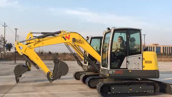 威克诺森ET60挖机,已经上市了!咱看看车况吧!-帖子图片