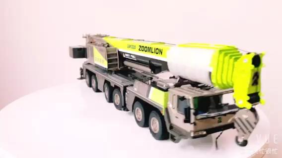 经典也可以再提升!新版中联220吨起重机模型