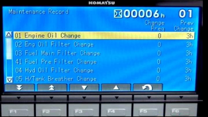 小松-8挖掘機顯示器服務菜單解析-帖子圖片