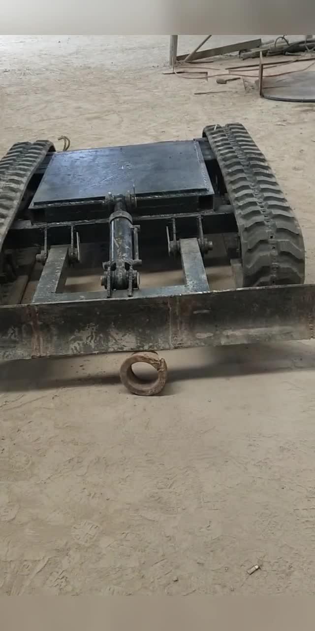 自制小挖机
