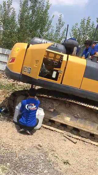 徐工挖掘机的使用过程与心得体会