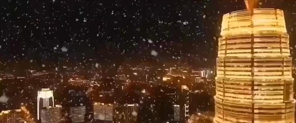 下雪了,下雪了