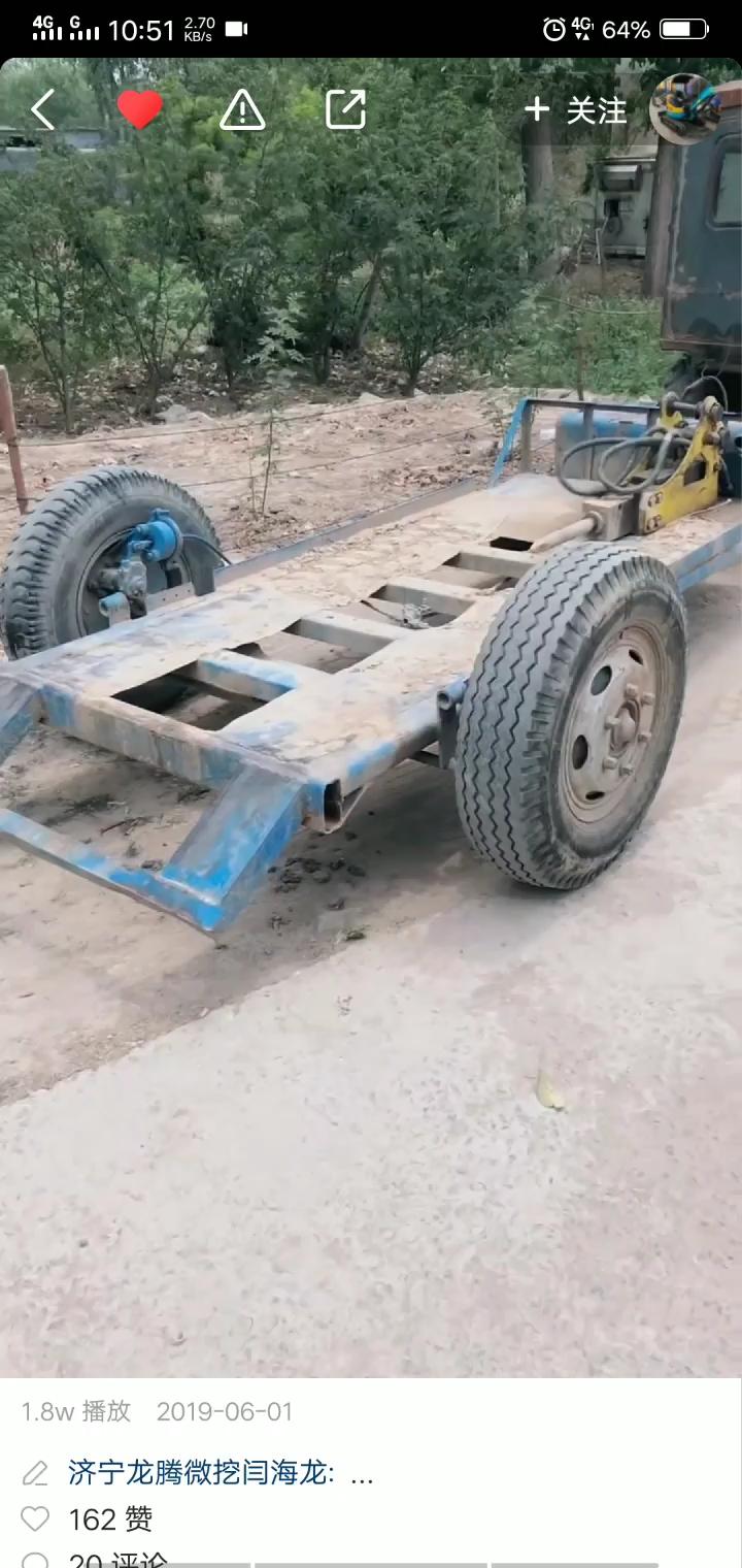 你们见过多少改装比较完美的拖车,
