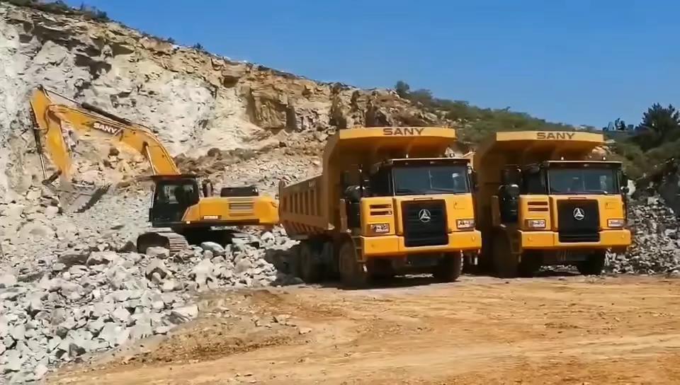 【发现三一】大型设备,效力于矿山