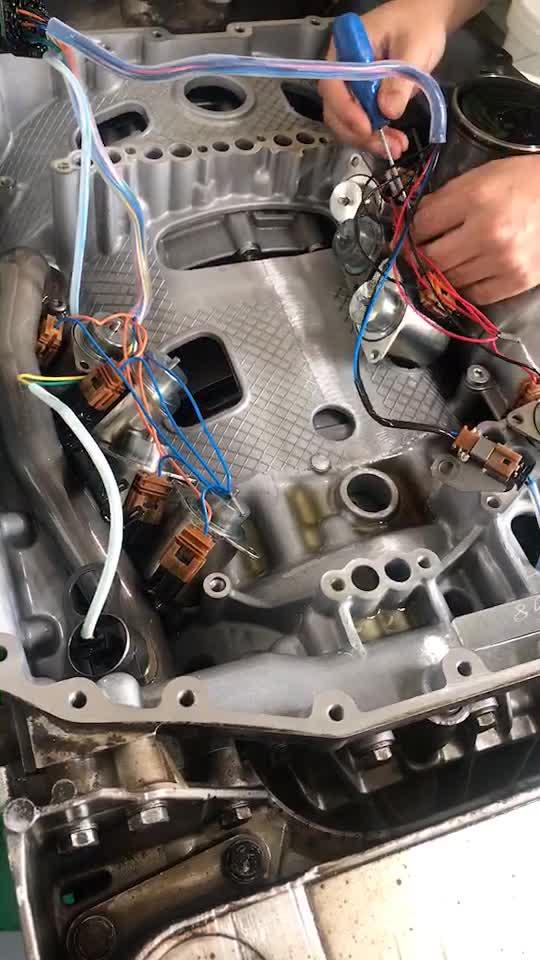 牽引車掛倒擋無反應故障案例,用檢測電腦模-帖子圖片