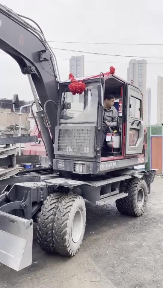 沃得輪式挖掘機-帖子圖片