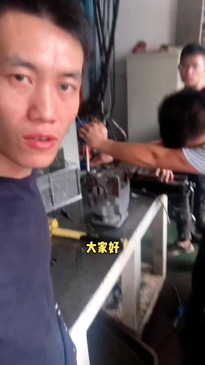 【牛挖修液压39】小挖机的东芝液压泵维修案例