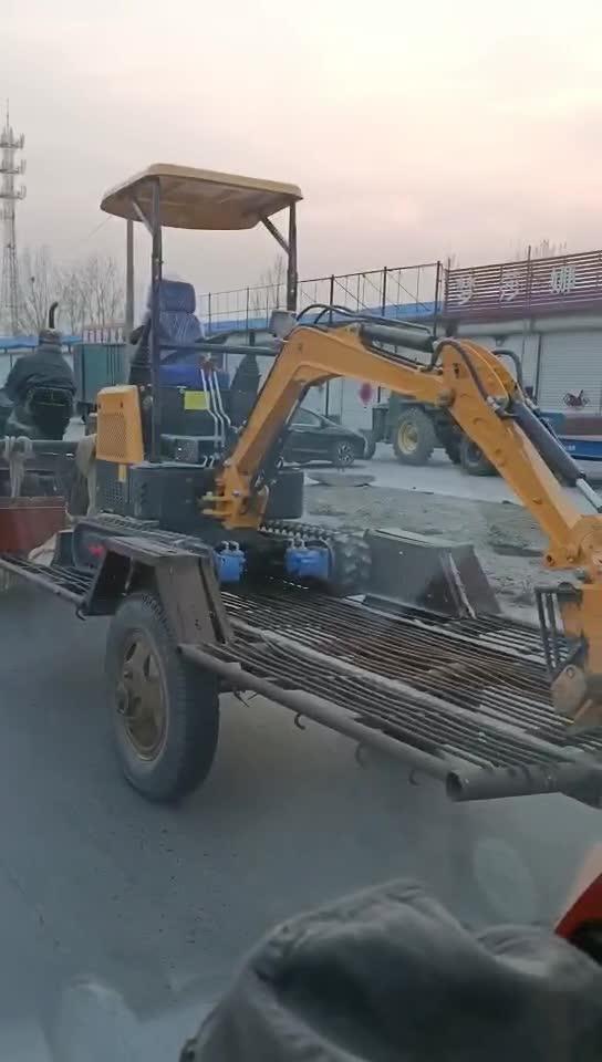 看看新做的微挖拖车,实用性价比高!
